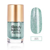 9ML Green Crystal Diamond Glitter Nail Polish For Manicure Nail Art Decoration 005