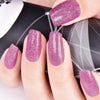 9ML Purple Crystal Diamond Glitter Nail Polish For Manicure Nail Art Decoration 009