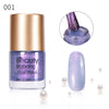 8ML Purple Shell Nail Polish Pearl Mermaid Lacquer Varnish For Manicure 001