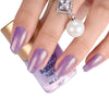 8ML Light Purple Pearl Mermaid Lacquer Varnish Shell Nail Polish 004