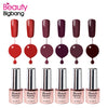6ML Red Series Soak-off UV&LED Gel Nail Polish Lamp OrangeRed SaddleBrown Gel Varnishes Nail Art Manicure 25-30