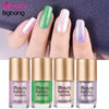 9ML Green Shiny Mermaid Shell Nail Polish For Manicure Nail Art 006