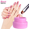 10g Rhinestones UV Gel Nail Art Decoration Glitter Glue Manicure Metal Jewelry Super Sticky Adhesive Nail Tool