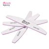 10Pcs Nail Buffers Half Moon Sanding Stick Files Manicure Tool 100/180