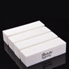 1Pc Nail File White Sponge Buffer Block For UV Gel Nail Polish Nail Tools