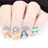 Beach Theme Water Decals Transfer Nail Art Stickers For Summer BBB024