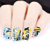 Marble Pattern Water Decals Transfer Nail Art Stickers BBB025