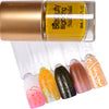9ML Lemon Yellow Nail Stamping Polish For Nail Plate Printing Varnish 017