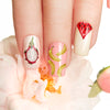 1 Sheet Fruit Theme Designs Nail Sticker Water Slider Decoration