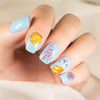 1 Sheet Flower Bird Theme Nail Sticker Water Slider Decoration