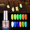 6ML Red Luminous Soak Off UV Gel Polish Fluorescence Nail Varnish 006
