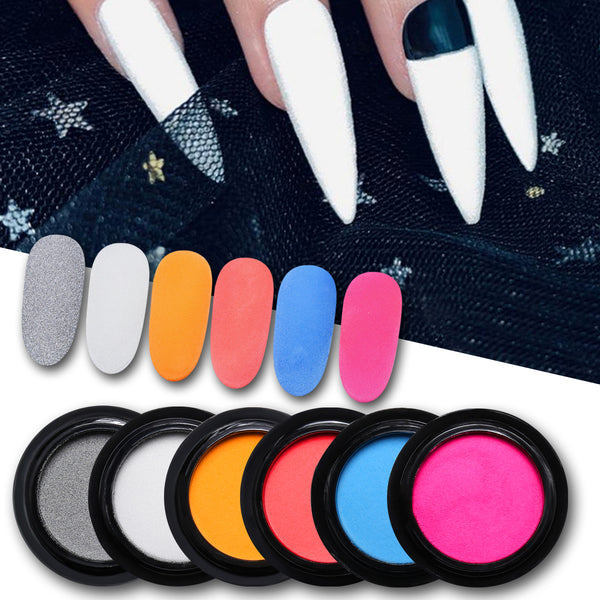 2g Nail Reflective Nail Glitter Powder Nail Art Decoration