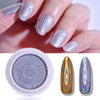 BEAUTYBIGBANG 1 Box Glitter for Nails Holographics Powder Solid state Silver Polishing Chrome Pigments Nail Art Decorations Laser Dazzling Dust