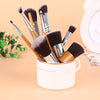 11Pcs Wood Handle Eyeshadow Concealer Foundation Makeup Brushes Kit