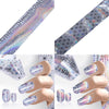 Flower Nail Art Foil Stickers Transfer Decal Tips For Manicure