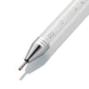 Double-end Crystal Silicone Stainless Steel Dotting Drilling Pen Nail Art Tools