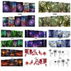 3D Scenery Design Water Decals Transfer Nail Art Stickers