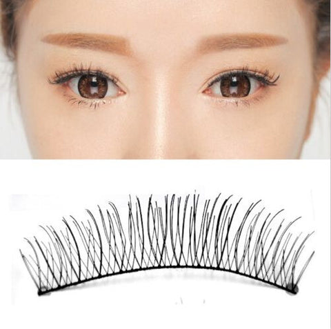 10 Pairs Natural Criss-Cross False Eyelashes