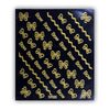 1 Sheet 3D Gold Metal Butterfly Geometry Shape Nail Art Stickers