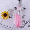 5Pcs Pink Makeup set Eyeshadow Brush Blush Brush Powder Brush Eyebrow Brush Cosmetic