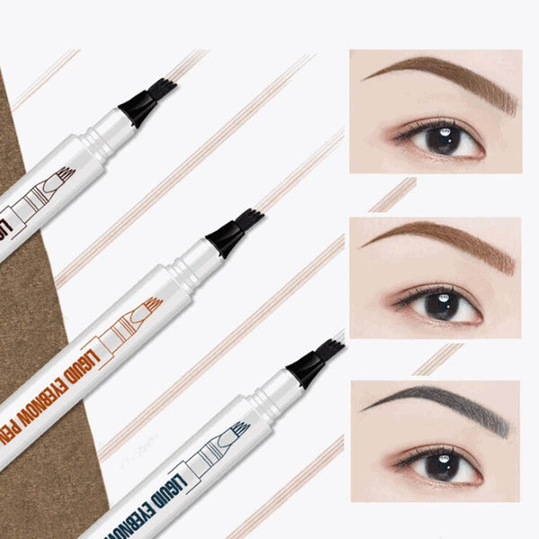 Waterproof Durable Liquid Long Lasting Tattoo Eyebrow Pen For Makeup