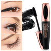 4D Silk Fiber Waterproof Silicone Brush Head Lengthening Eyelash Mascara Makeup
