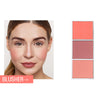 3Colors Bronze Contour Blush Highlighter Powder Palette For Makeup