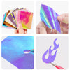 16 Colors Flame Nail Stickers Flame Nail Art