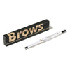 Natural Long Lasting Waterproof Black Brown Eye brow Makeup Set
