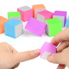 10Pcs Durable Sponge Nail File Nail Art Tools For Manicure Random Color