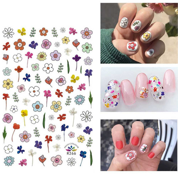 3D Glitter Star Jewelry Geometry Nail Art Decals Adhesive Nail Art Stickers