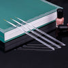 3Pcs Crystal Acrylic Thin Liner Drawing Stripes Flower Pen Nail Art Tools