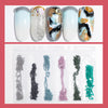Mixed Size Jewelry Glass Flat Bottom Rhinestone Drill Nail Decoration