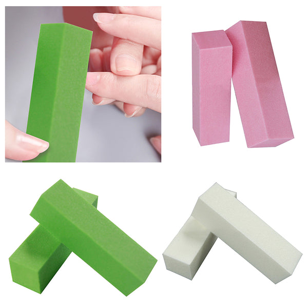 10Pcs Nail File Buffer Block For Manicure For Nail Art Tools