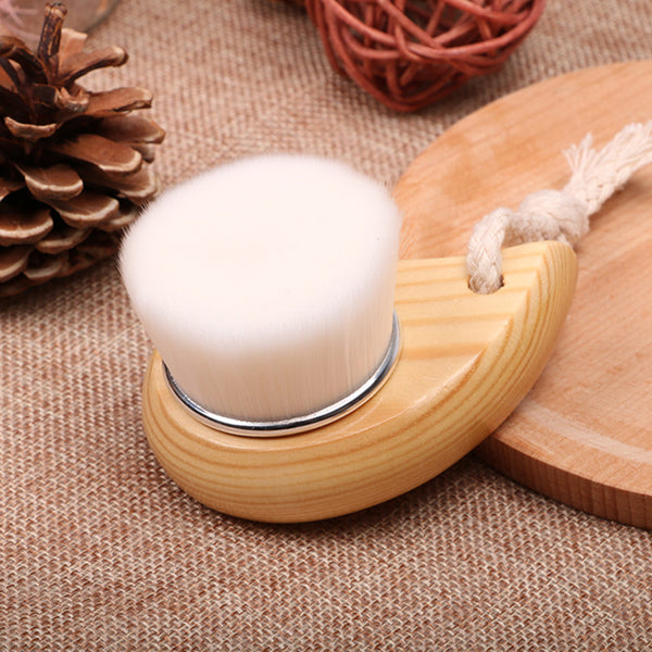 Fiber Cleaning Soft Brush Massager Facial Care Pore Cleaning Brush