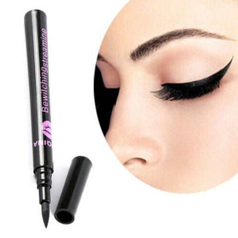 Black Waterproof Liquid Long Lasting Eyeliner Pen