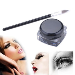 Waterproof Eyeliner Gel And Eye Liner Brush Set Makeup Kit