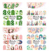 1Pc/11Pcs Rabbit Design Water Decals Transfer Nail Art Stickers For Easter Day BBB022