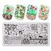 6Pcs Multi-pattern Rectangle Nail Art Stamping Plates Set BBBXL-077/78/79/80/81/82