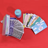 10 Pcs Nail Stamping Plates & Stamp Bag With Free Gift