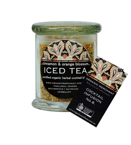 Cinnamon and Orange Blossom Organic Iced Tea - 80g