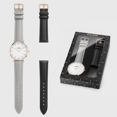 Cluse - Rose Gold Watch Gift Set