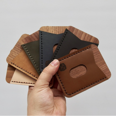 Hammered LeatherWorks - DIY Card Holder Kit