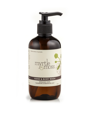 Myrtle and Moss - Hand and Body Wash 250mL
