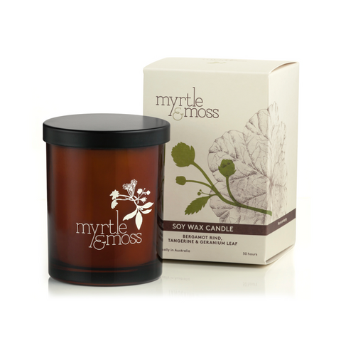 Myrtle and Moss - Large Soy Wax Candle