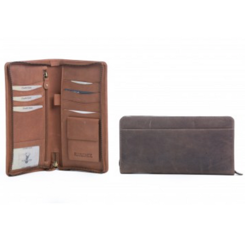 Rugged Hide - Travel Wallet