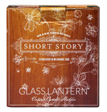 Short Story - Small Glass Lantern with Tea light Candle