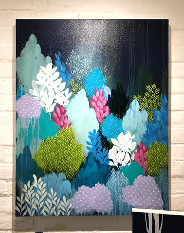 """The Undergrowth"" 71 x 92 Artwork"