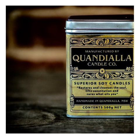 Quandialla Candle Co - Soy Candle Large Tins