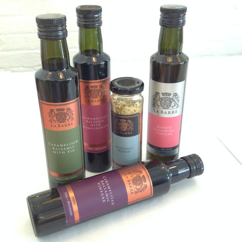 La Barre - Flavoured Caramelised Balsamic Vinegars
